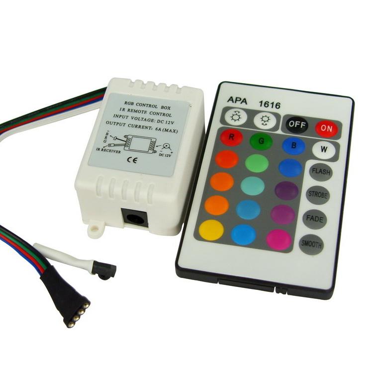 Контроллер 3х2A инфракрасный